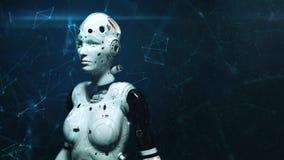Mujer del robot, mujer de la ciencia ficción