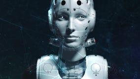 Mujer del robot, mujer de la ciencia ficci?n