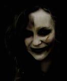 Mujer del zombi Foto de archivo libre de regalías