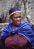Mujer del Zulú Imagenes de archivo