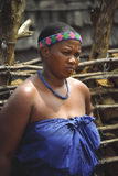 Mujer del Zulú Fotos de archivo