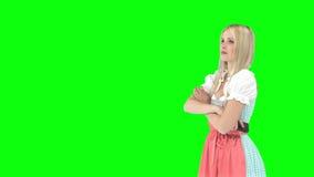 Mujer delante de Nueva York metrajes