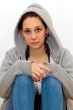 Mujer depresiva Fotografía de archivo libre de regalías