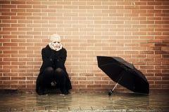 Mujer desesperada Imagen de archivo libre de regalías