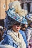 Mujer disfrazada Fotos de archivo libres de regalías