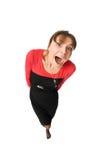 Mujer divertida Imagen de archivo
