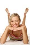 Mujer divertida Imagen de archivo libre de regalías