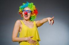 Mujer divertida Fotografía de archivo libre de regalías