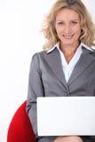 Mujer ejecutiva elegante Imagenes de archivo