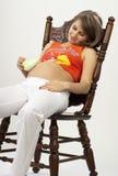 Mujer embarazada Imagenes de archivo
