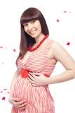 Mujer embarazada imagen de archivo
