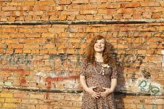 Mujer embarazada Fotografía de archivo libre de regalías