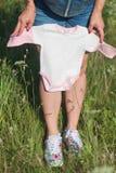Mujer embarazada Fotos de archivo libres de regalías