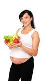 Mujer embarazada de los jóvenes Fotografía de archivo