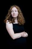 Mujer embarazada del renacimiento Imagenes de archivo