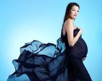 Mujer embarazada hermosa joven Fotografía de archivo