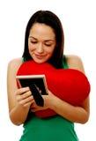Mujer en amor Imágenes de archivo libres de regalías