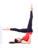 Acción de Pilates Imagen de archivo