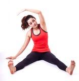 Acción de Pilates Fotos de archivo