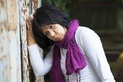 Mujer en la depresión Imagen de archivo