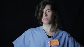 Mujer en la industria médica metrajes
