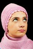 Mujer en la ropa caliente Imagen de archivo libre de regalías