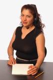 Mujer en oficina Imagen de archivo libre de regalías