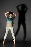 Mujer en pointes Imagen de archivo