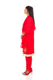 Mujer en sari Fotos de archivo