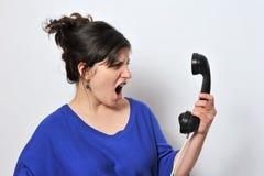 Mujer en trabajo imagen de archivo