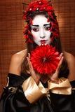 Mujer en traje del este tradicional Foto de archivo
