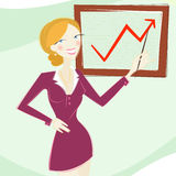 Mujer en vector del asunto libre illustration