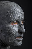 Mujer escultural en arcilla mojada Balneario - 7 Foto de archivo