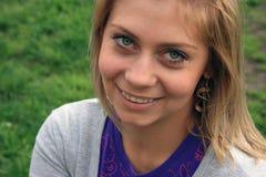 Mujer europea joven imagen de archivo