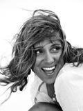 Mujer feliz Imagen de archivo