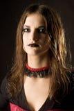 Mujer gótica foto de archivo