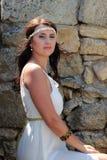 Mujer griega Fotografía de archivo libre de regalías