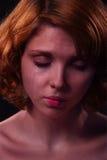 Mujer gritadora Imagen de archivo