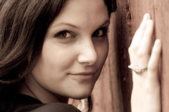 Mujer hermosa Fotografía de archivo