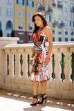 Mujer hermosa atractiva Imagen de archivo libre de regalías
