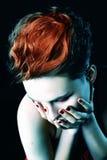 Mujer hermosa con el pelo corto Fotografía de archivo libre de regalías