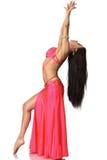 Mujer hermosa de la bailarina de la danza del vientre Fotografía de archivo libre de regalías