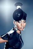 Mujer hermosa del africano de la moda Foto de archivo libre de regalías
