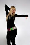 Mujer hermosa del baile Fotos de archivo