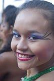 Mujer hermosa del grupo de la gente de Colombia imágenes de archivo libres de regalías
