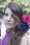 Mujer hermosa del grupo de la gente de España imagen de archivo libre de regalías