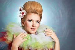 Mujer hermosa del hada-cuento Fotografía de archivo libre de regalías
