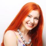 Mujer hermosa del redhair imágenes de archivo libres de regalías