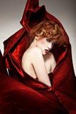 Mujer hermosa del redhead fotografía de archivo libre de regalías