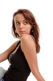 Mujer hermosa del redhead Imagen de archivo libre de regalías